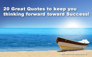 20 quotes for business success